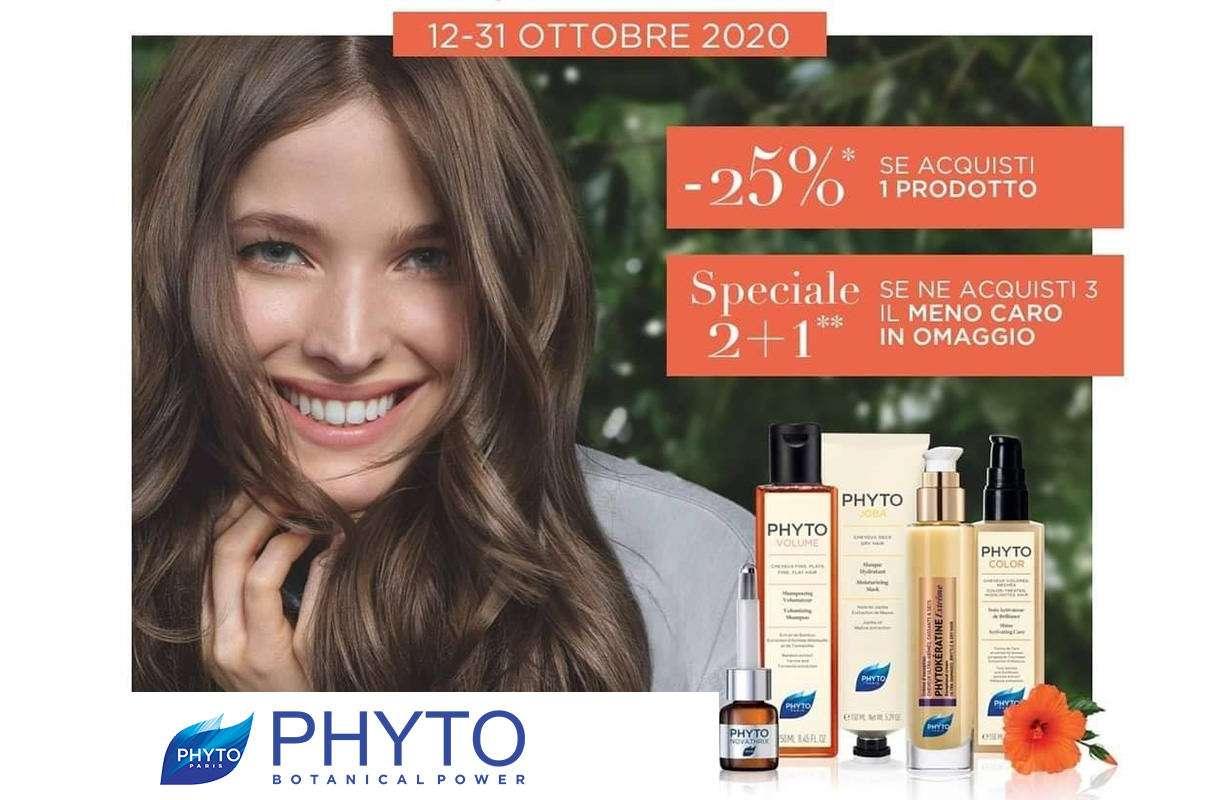 Dal 12 al 31 OTTOBRE - Promozione PHYTO Hair beauty day