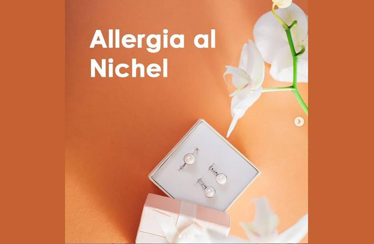 Spesso i gioielli contengono una percentuale di Nichel che può causare una reazione allergica da contatto.