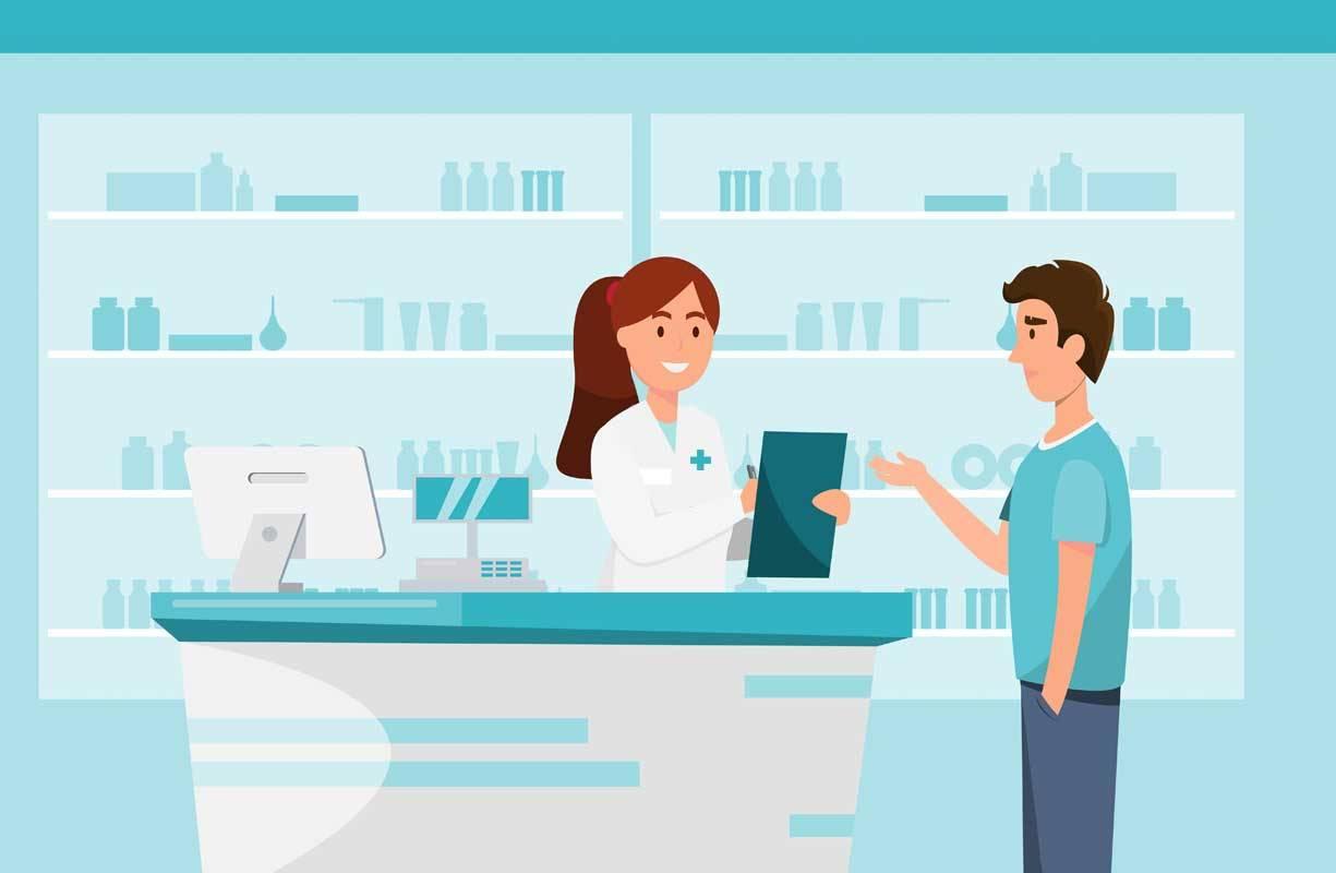 Le linee in farmacia