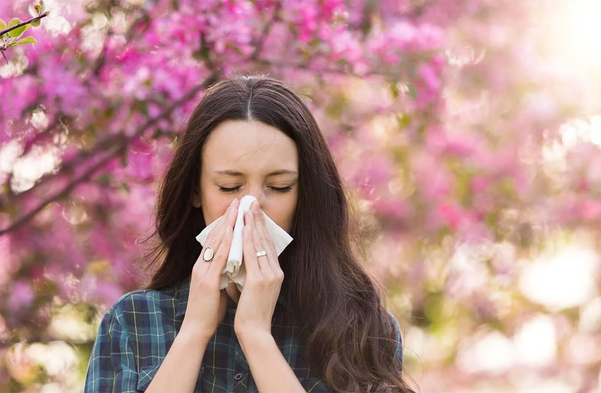La primavera e le allergie