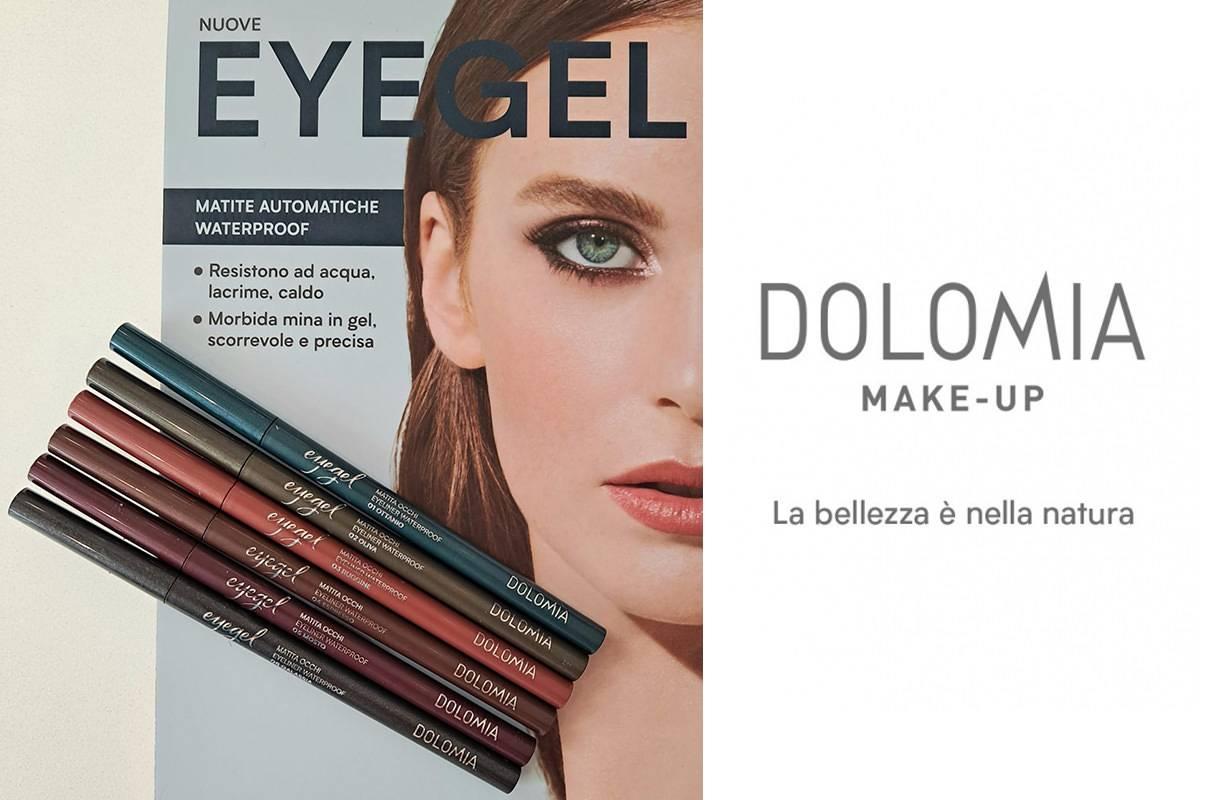NUOVE EYEGEL, le matite automatiche waterproof di Dolomia