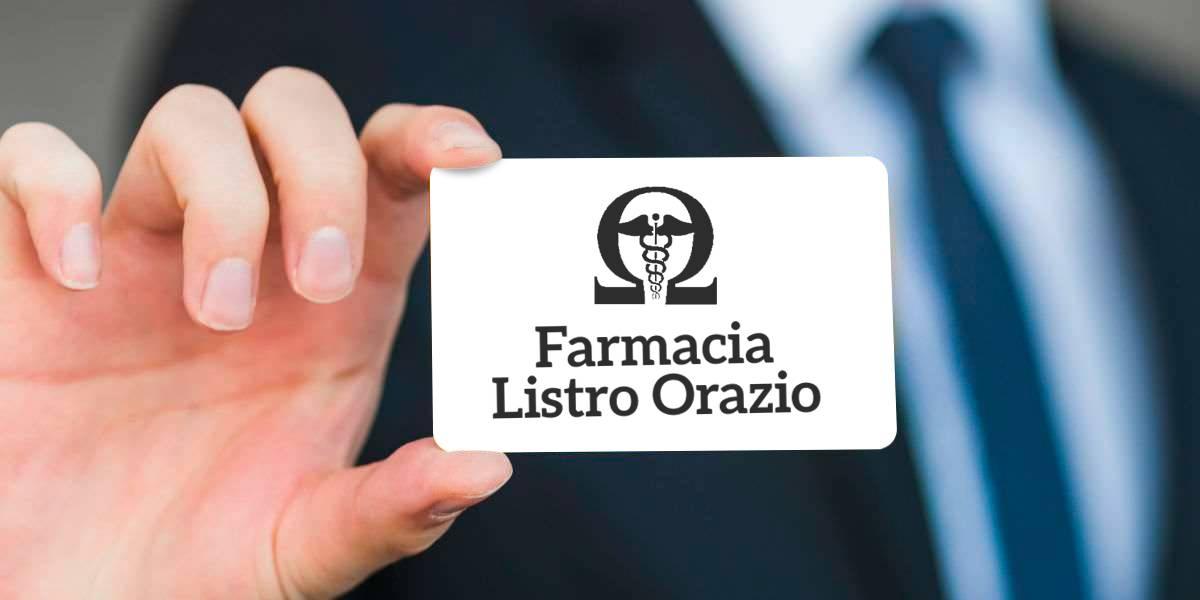 Fidelity card Farmacia Orazio Listro