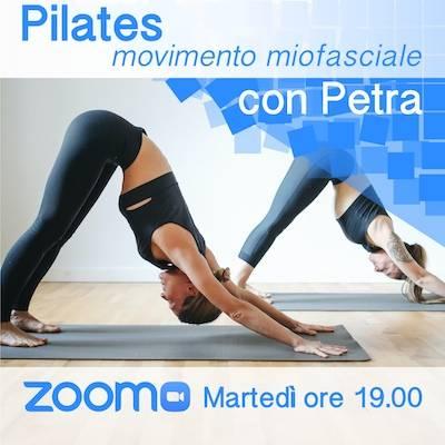 Pilates Online Martedì h. 19.00