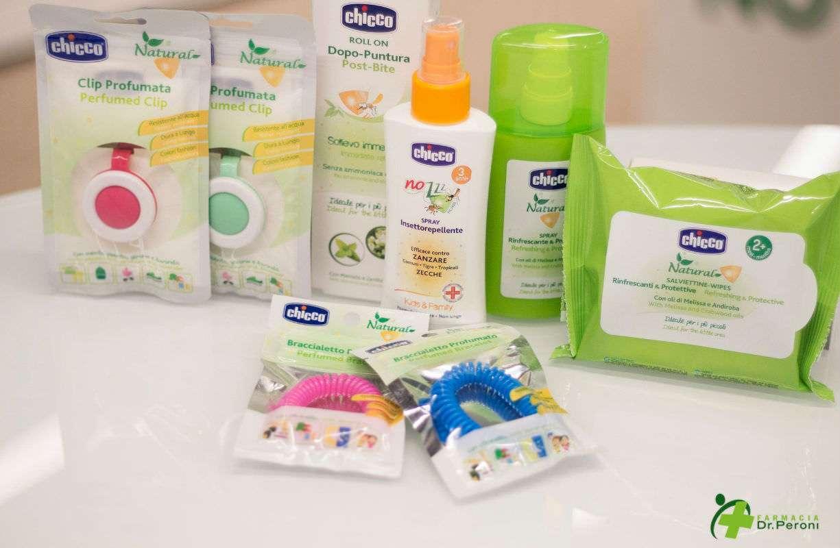 Chicco. Protezione efficace dalle zanzare per tutta la famiglia, formulazioni 100% naturali ideali anche per i più piccoli.