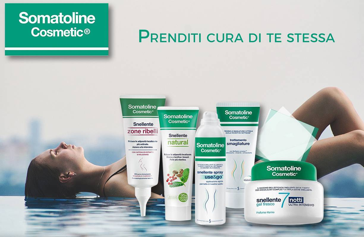 Dal 5 MARZO al 30 APRILE - Offerta SOMATOLINE -10€ su tutti i prodotti corpo