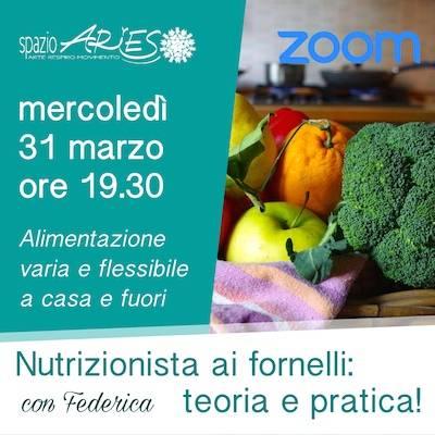 Nutrizionista ai fornelli: 31 marzo ore 19.30
