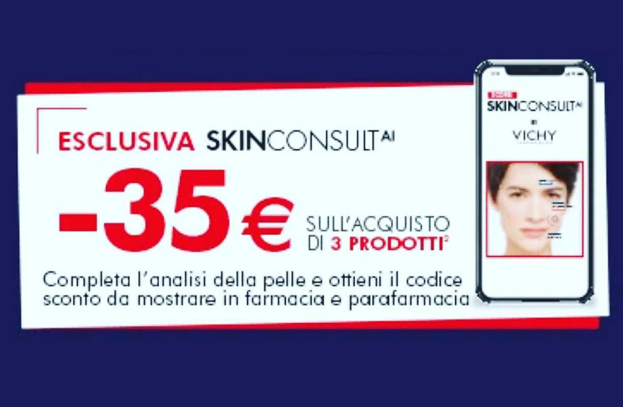Fino al 31 MARZO - Sconto €35 sull'acquisto di 3 prodotti SKIN COLSULT