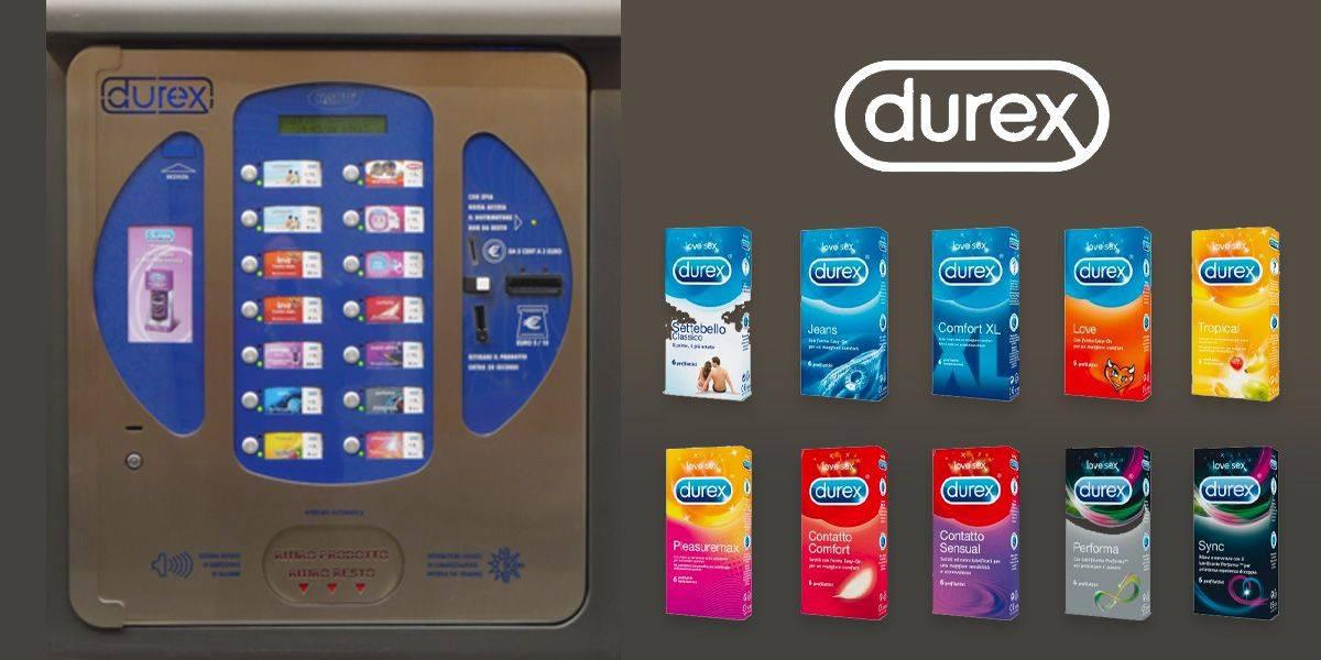 Distributore Durex 24H