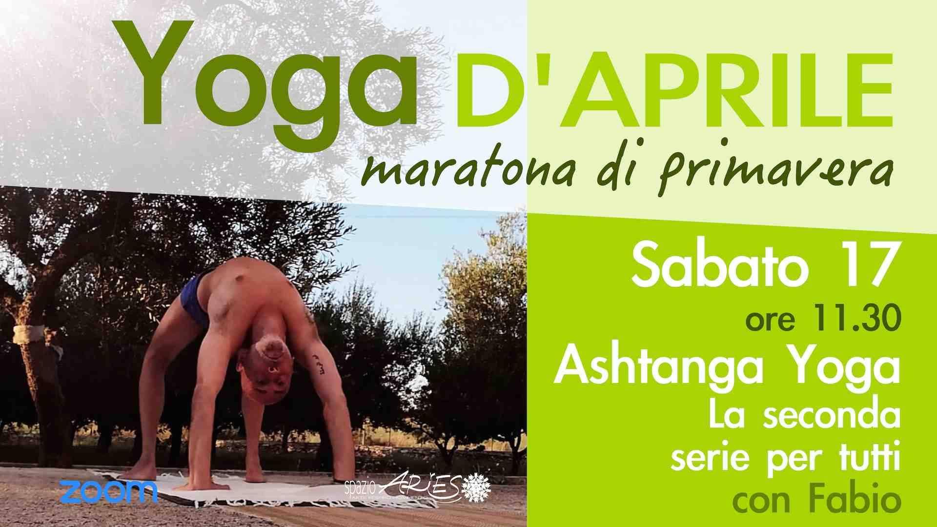 Ashtanga yoga online con Fabio