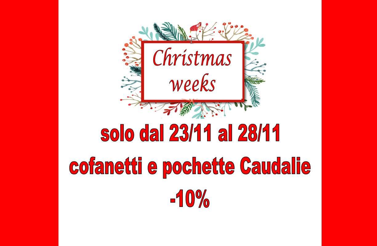 Dal 23 al 28 NOVEMBRE - CAUDALIE Christmas Weeks