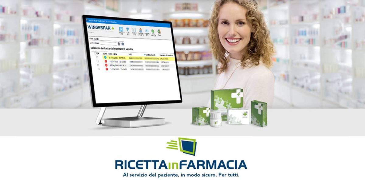 Invio ricette in farmacia