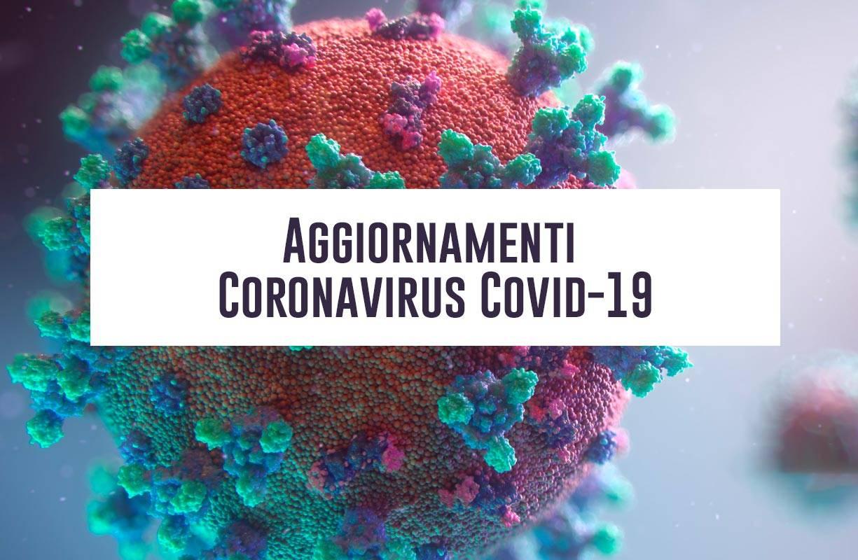 Aggiornamenti Coronavirus Covid-19