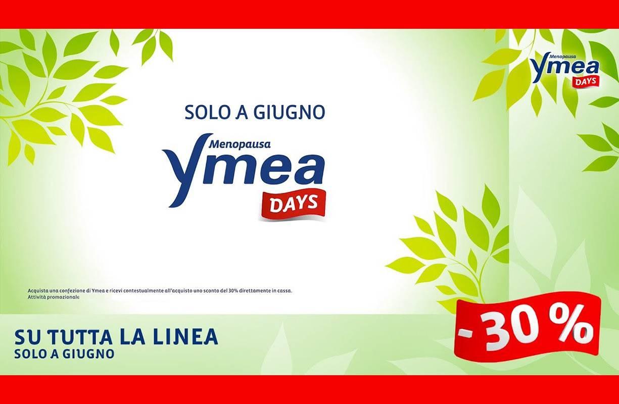 Per tutto il mese di GIUGNO - Offerta linea YMEA -30%