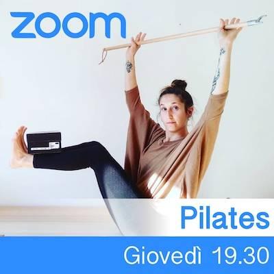 Pilates online giovedì h.19.30