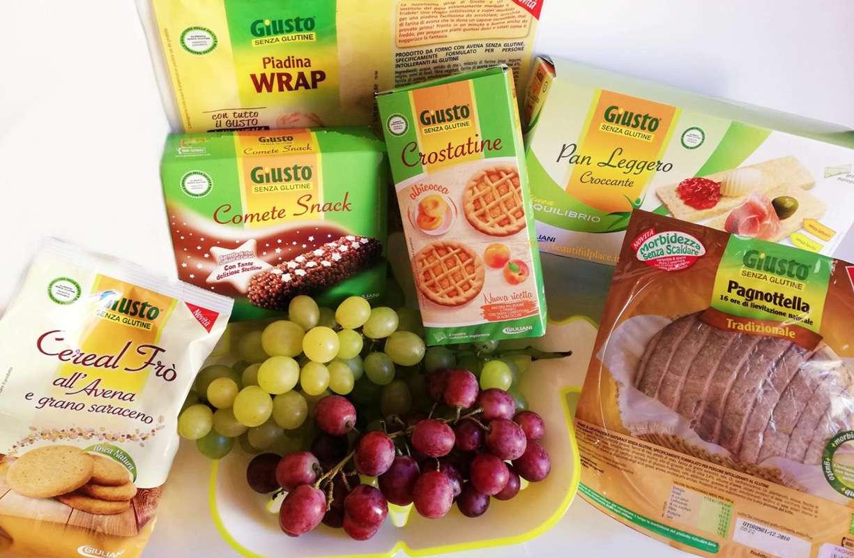 Giovedì 27 FEBBRAIO - Giornata GIULIANI senza glutine per celiaci