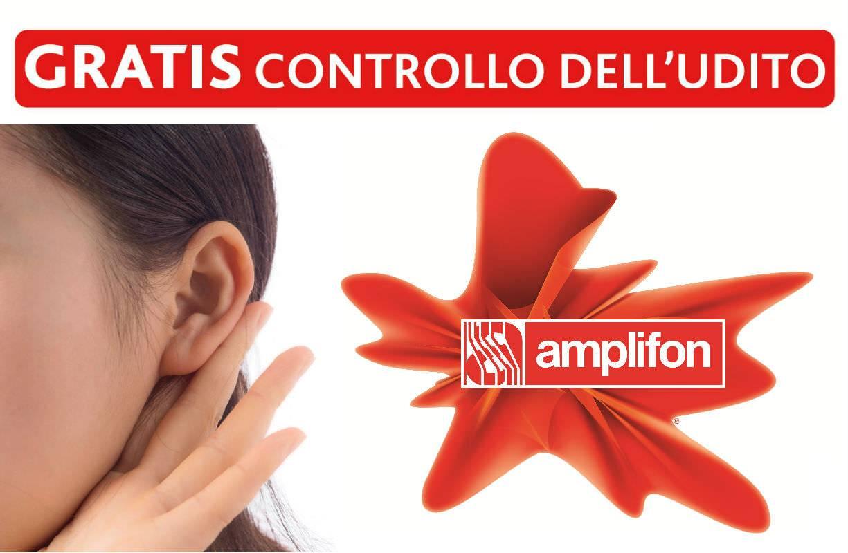 2° e 4° venerdì mattina di OGNI MESE - controllo gratuito UDITO in collaborazione con AMPLIFON