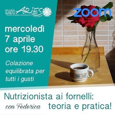 Nutrizionista ai fornelli: 10 marzo ore 19.30