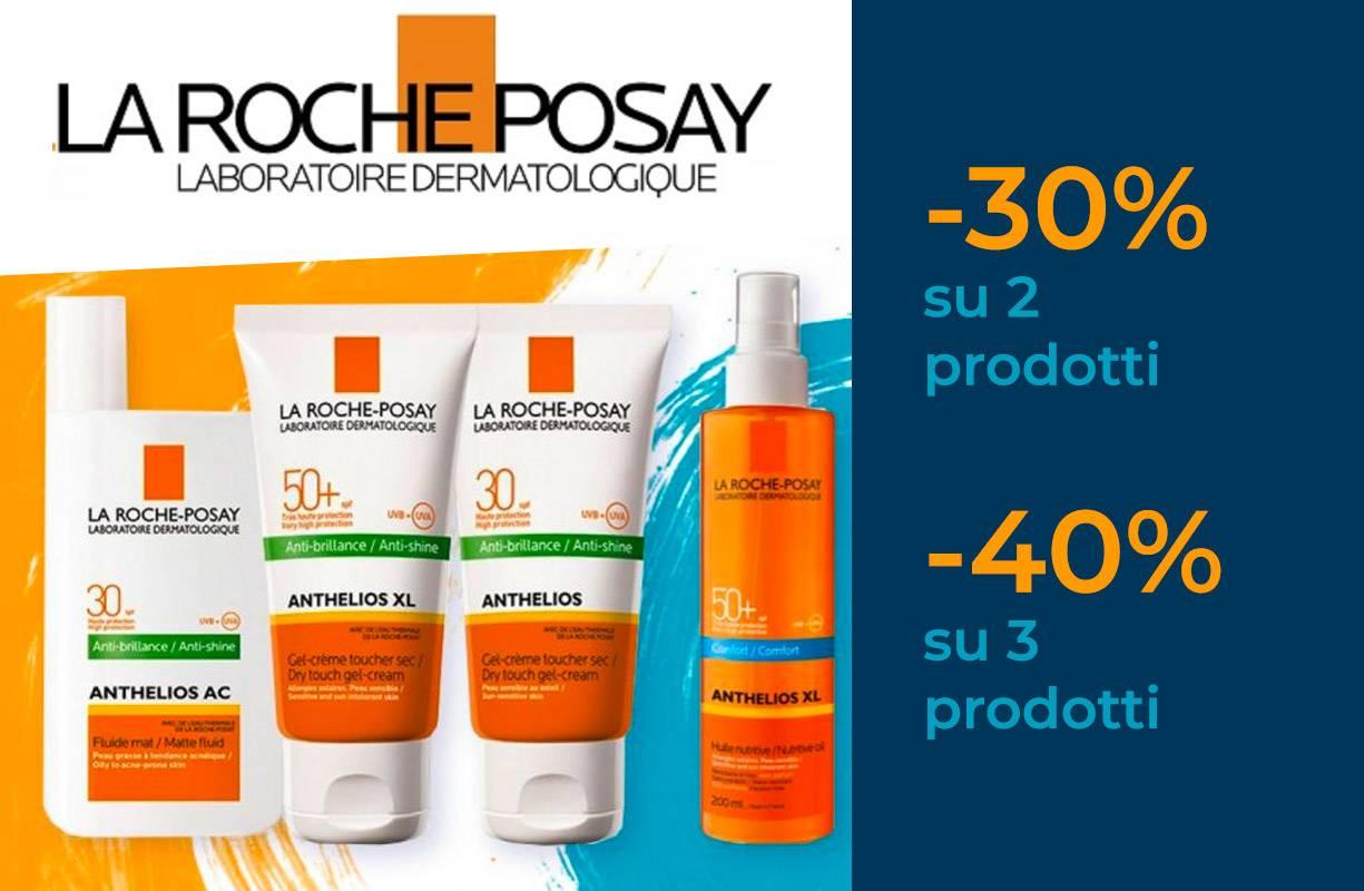 La Roche-Posay PROMOZIONE Solari