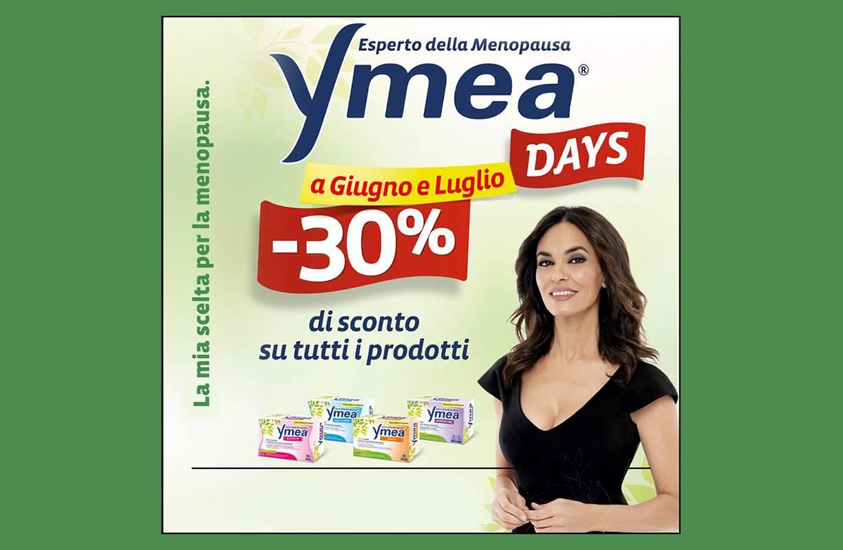 Tutto GIUGNO e LUGLIO - Sconto 30% sui prodotti YMEA