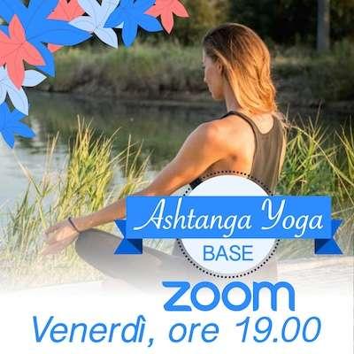 Ashtanga yoga online venerdi ore 19.00
