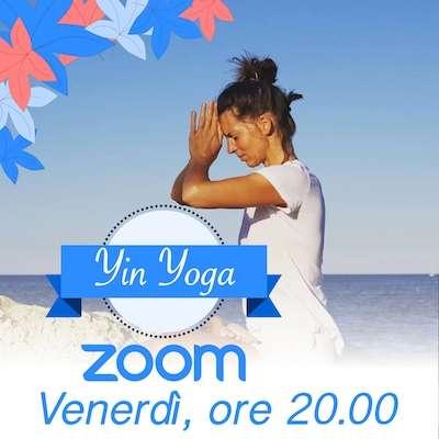 Yin Yoga online Venerdi ore 20.00