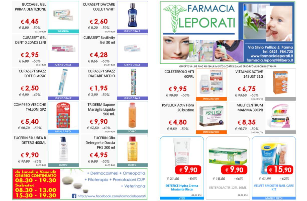 Farmacia Leporati - VOLANTINO promozioni SCONTO 60%