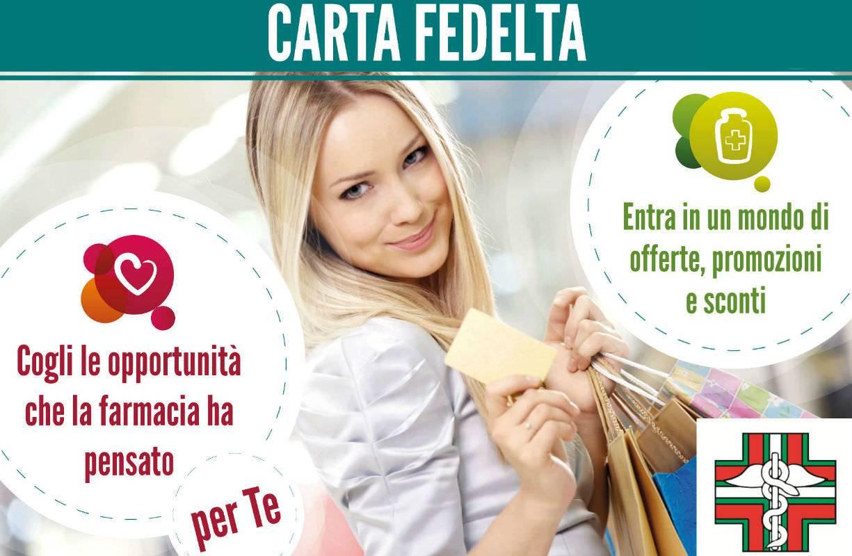FIDELITY CARD in farmacia