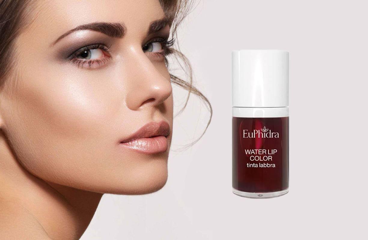 La nuova tinta labbra Water Lip Color di @euphidra_cosmesi