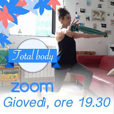 Total Body online giovedì h.19.30