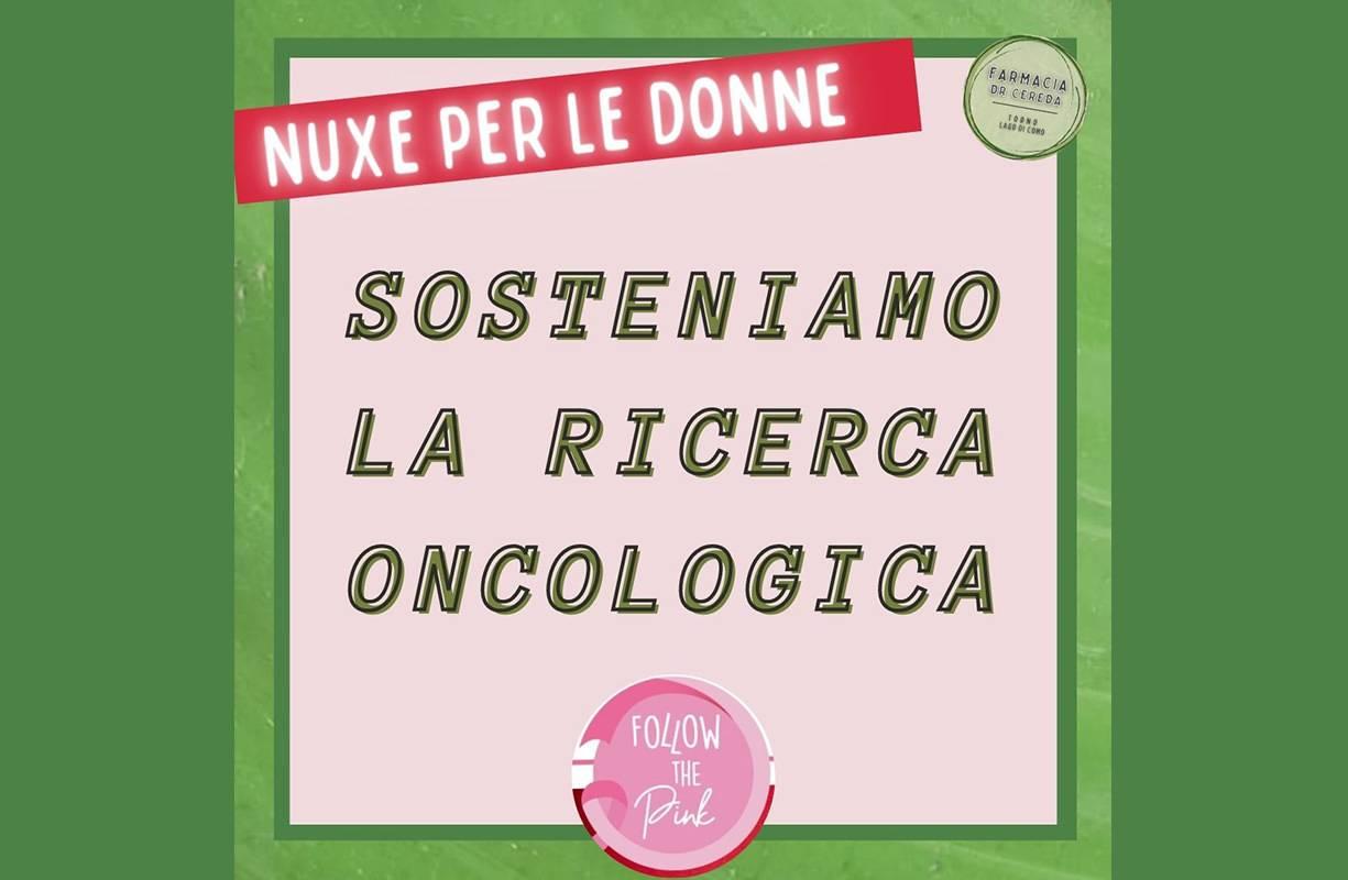 NUXE Sosteniamo la ricerca oncologica