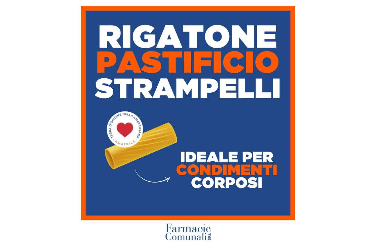 RIGATONE PASTIFICIO STRAMPELLI