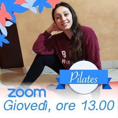 Pilates Online giovedì h.13.00