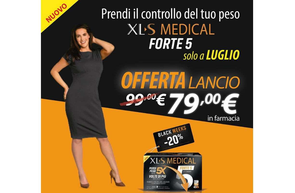 Per tutto il mese di LUGLIO - SCONTO XL S Medical Forte 5