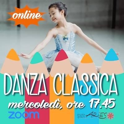 Danza Classica bimbe Mercoledì h. 17.45