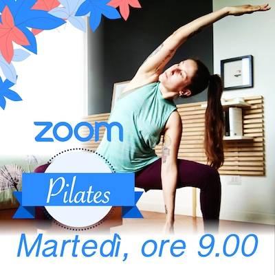 Pilates Online Martedì h. 9.00