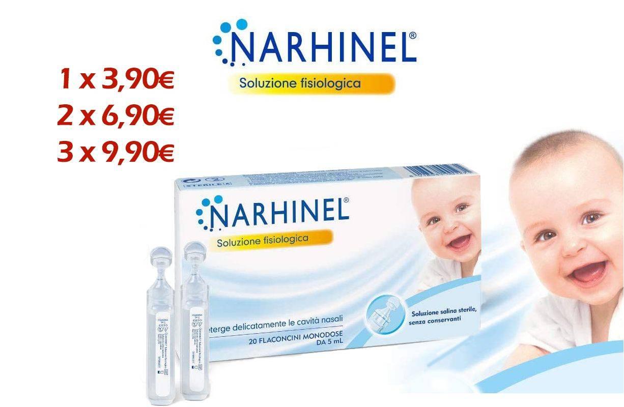 PROMOZIONE Narhinel soluzione fisiologica 20 fl monodose