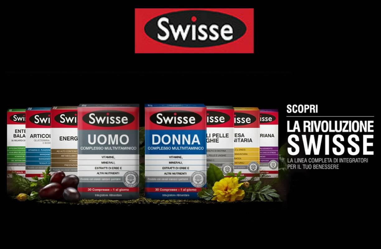20 OTTOBRE - Giornata integratori SWISSE promo 1+1