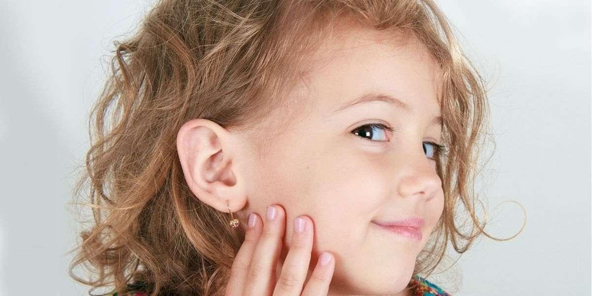 Foratura lobi per orecchini