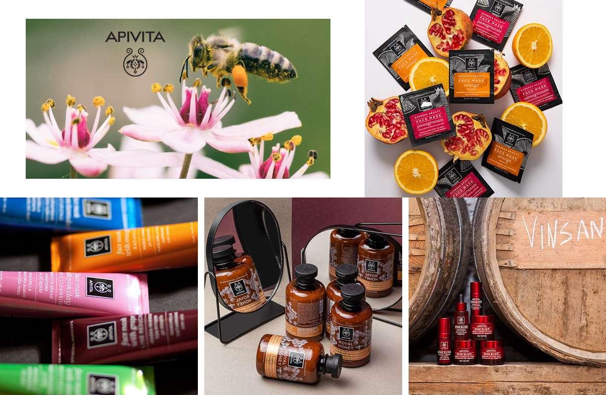 La linea Apivita si dedica alla realizzazione di prodotti naturali e olistici