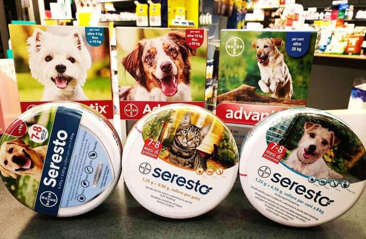 Seresto  Advantix - Combatti i parassiti dei tuoi piccolo animali