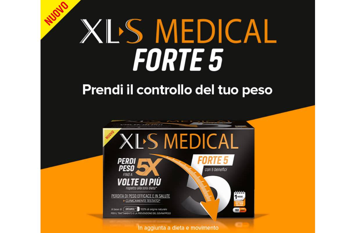 Dal 1 LUGLIO al 14 AGOSTO 20% di sconto su XLS MEDICAL FORTE