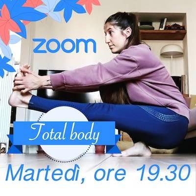 Total body Online Martedì h.19.30