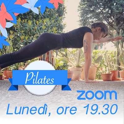 Pilates online Lunedì h. 19.30