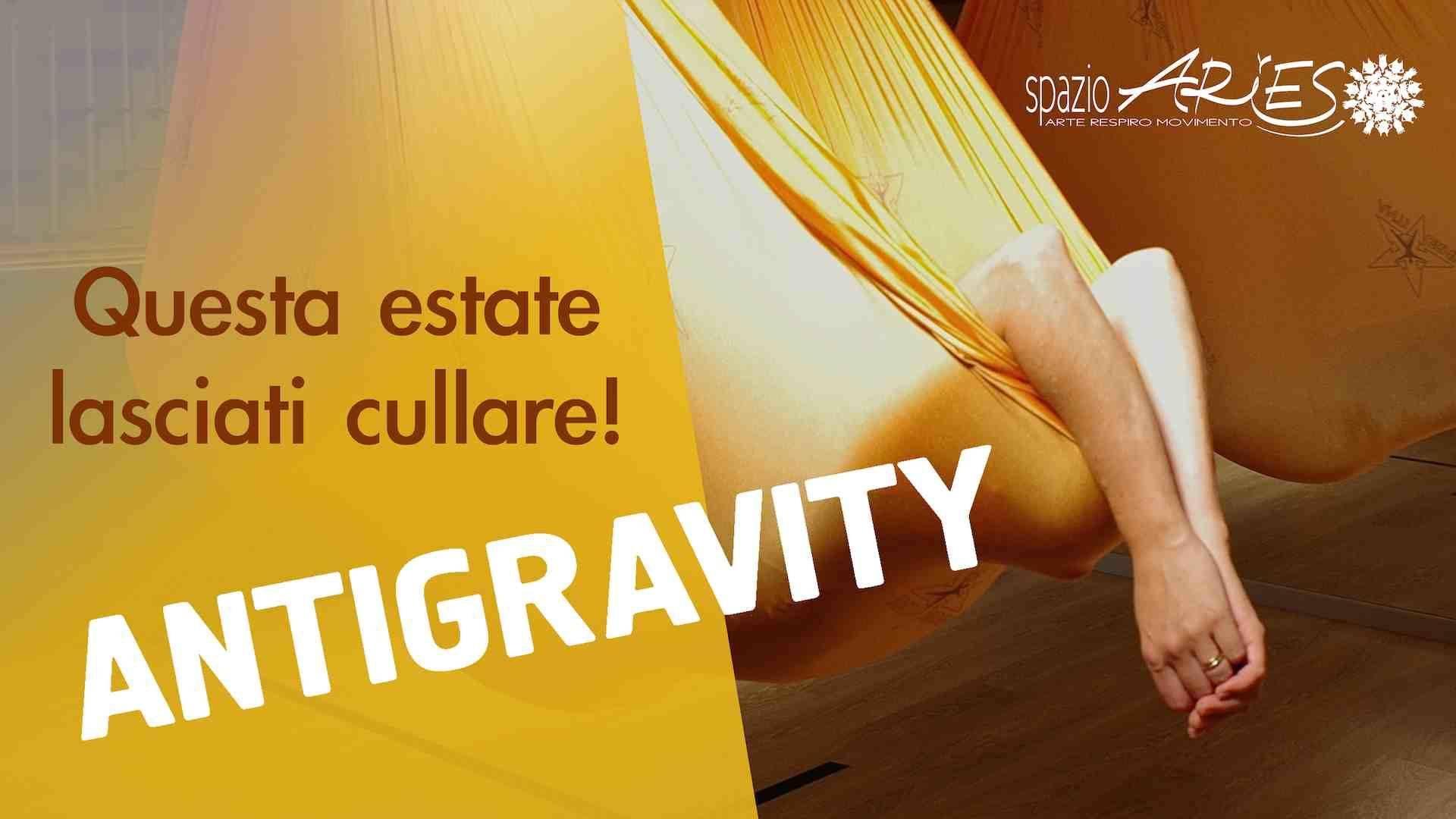 Antigravity e Aerial Yoga ritornano in sala!