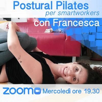 Postural Pilates Online mercoledì h. 19.30