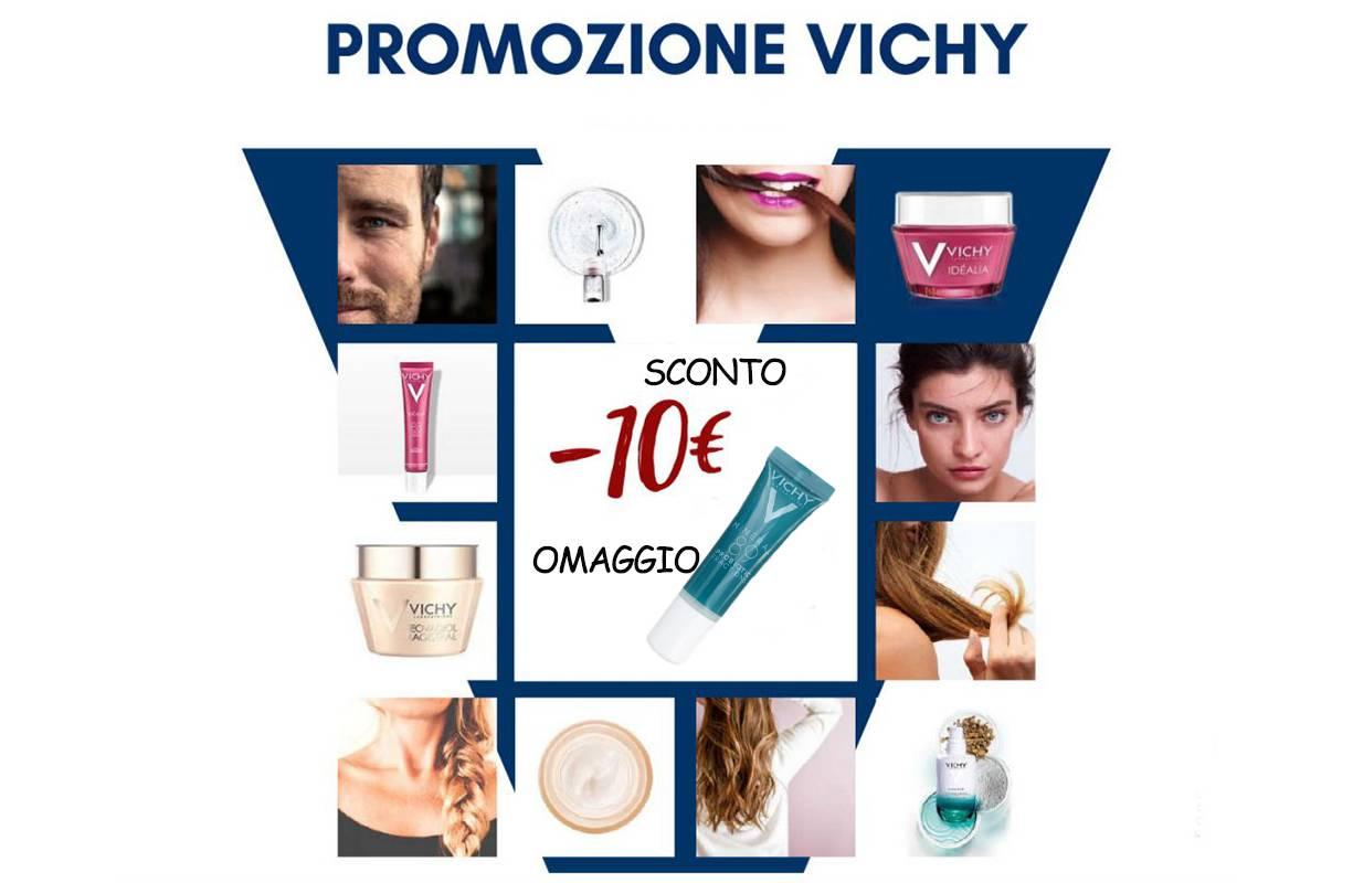 Promozione Vichy acquistando un trattamento viso