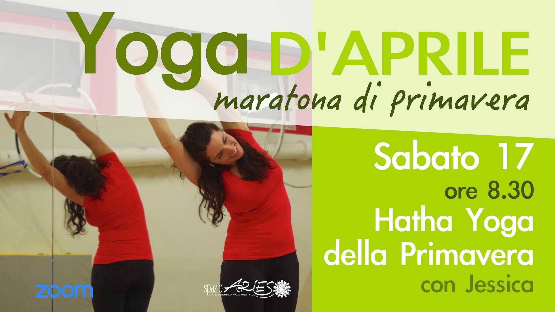 Hatha Yoga online della primavera con Jessica