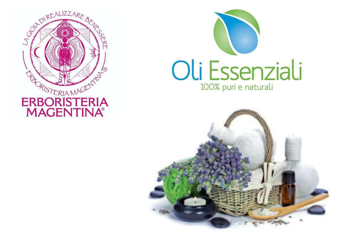 Olii essenziali Erboristeria Magentina e Diffusori