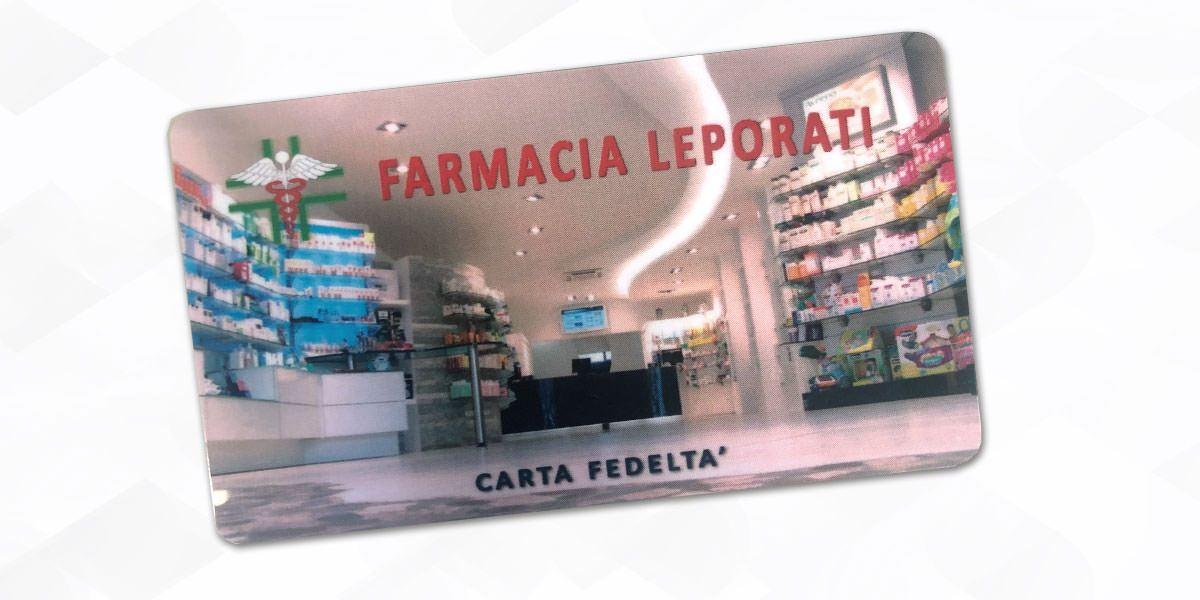 TESSERA FEDELTA' - Catalogo premi