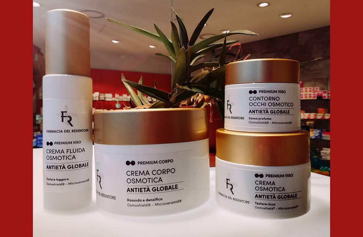 LFP linea osmotica SCONTO 5€ sull'acquisto di crema corpo, crema viso ricca, contorno occhi e crema fluida viso